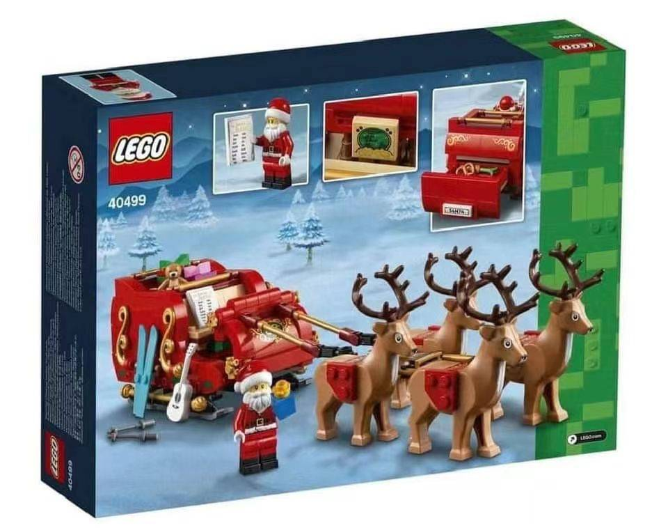 40499 santa's sleight back