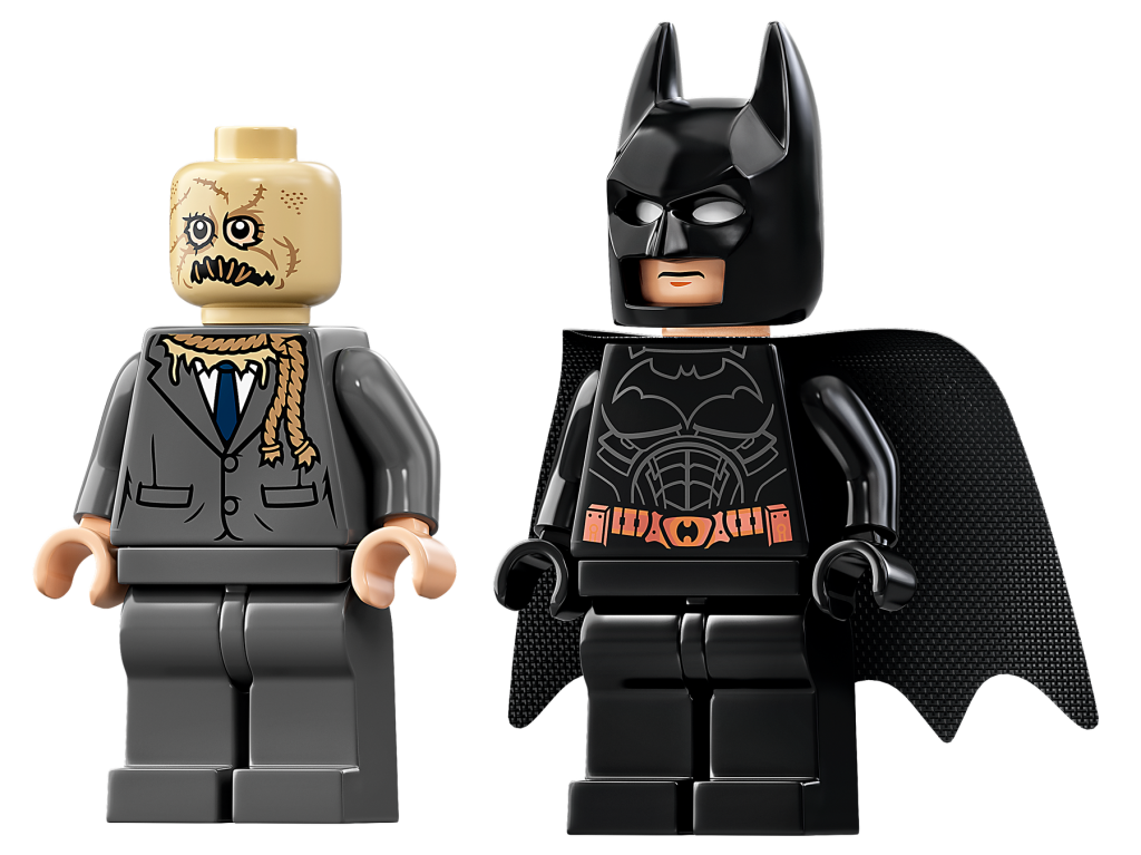 scarecrow and batman minifigures