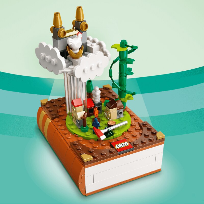 bricktober Jack and the Beanstalk