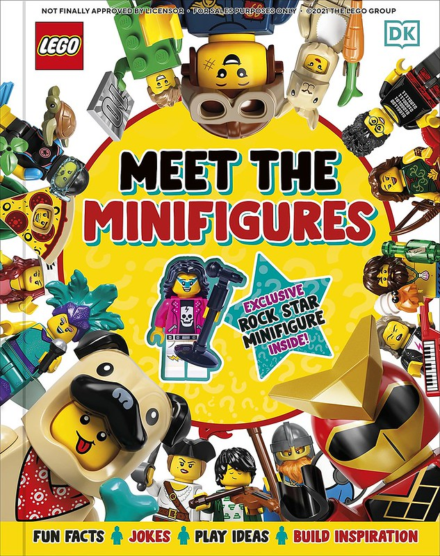 meet the minifigures book cover